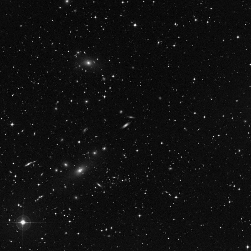 Image of IC 2079 - Spiral Galaxy in Dorado star