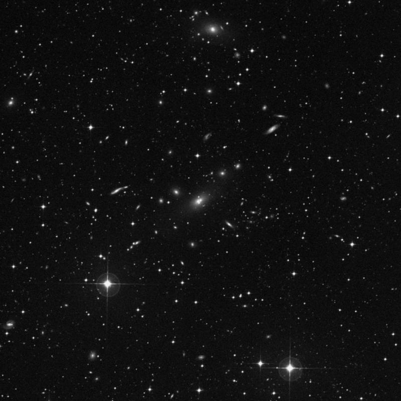 Image of IC 2082 NED02 - Elliptical Galaxy in Dorado star