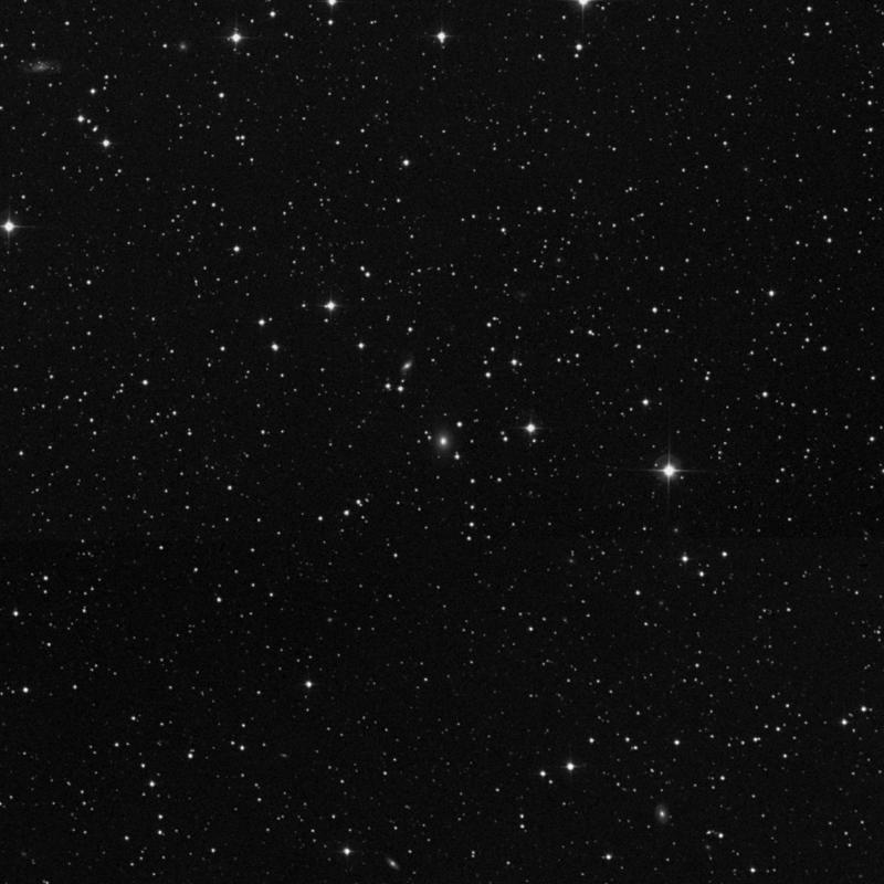 Image of IC 2176 - Elliptical Galaxy in Gemini star