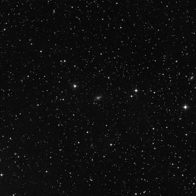 Image of IC 2182 - Lenticular Galaxy in Gemini star