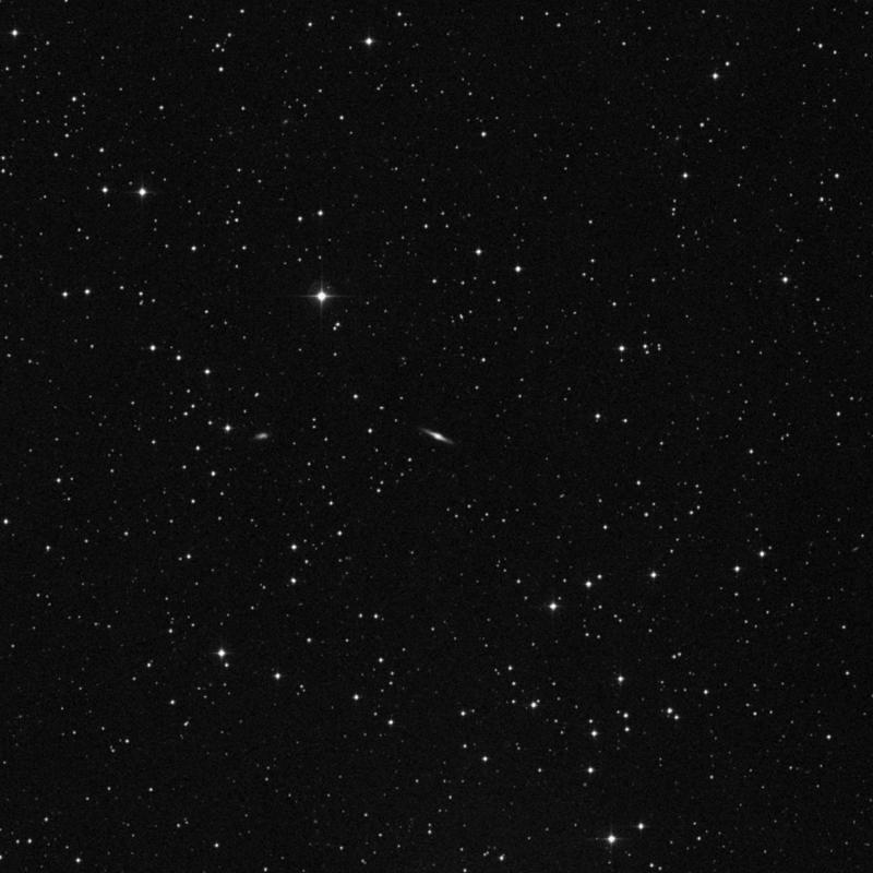 Image of IC 2201 - Spiral Galaxy in Gemini star