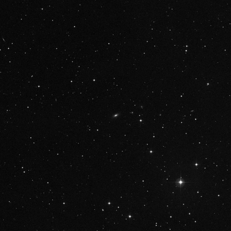 Image of IC 2435 - Elliptical Galaxy in Cancer star