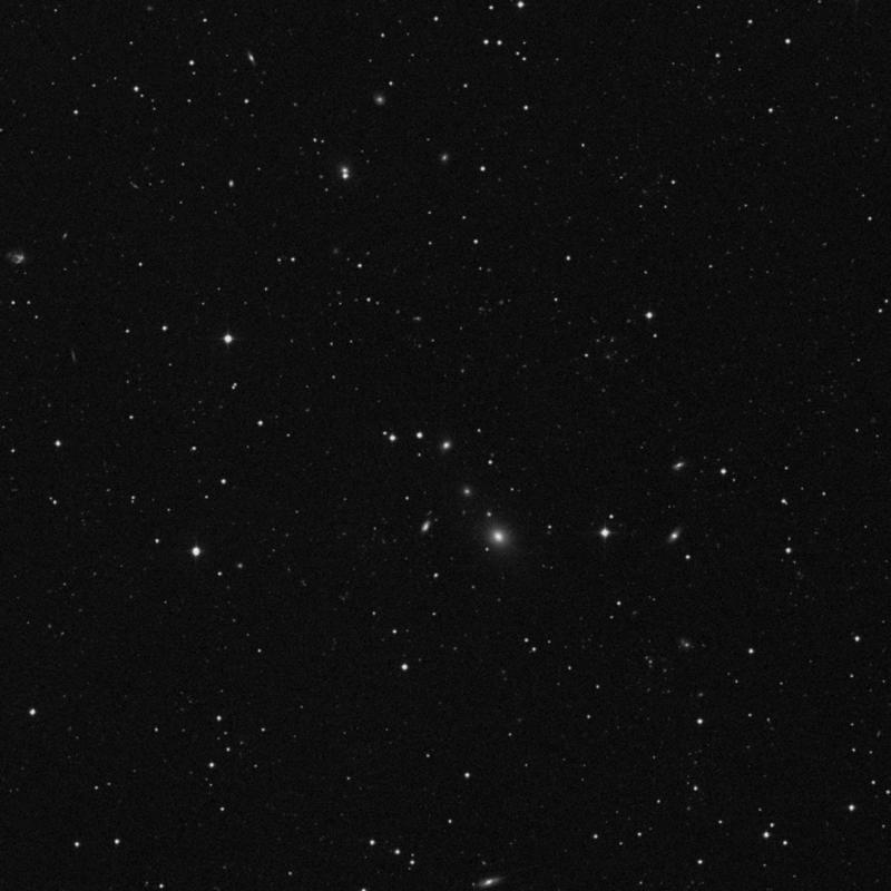 Image of IC 2478 - Elliptical Galaxy in Leo star