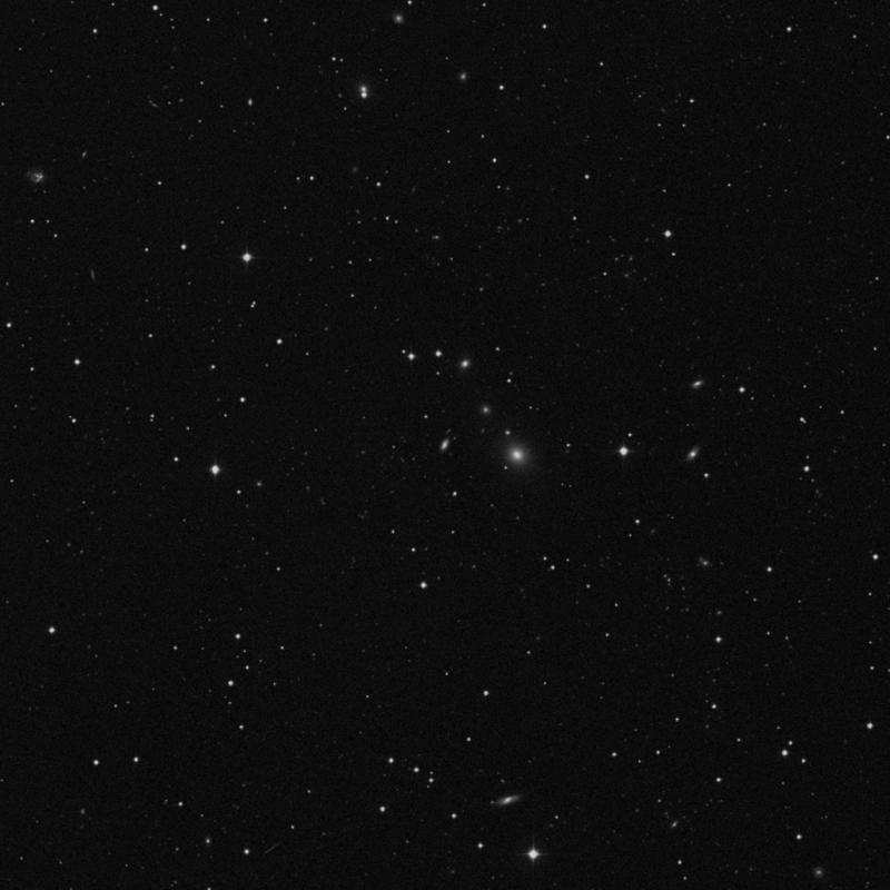 Image of IC 2479 - Barred Spiral Galaxy in Leo star