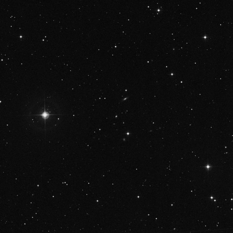 Image of IC 2549 - Spiral Galaxy in Leo Minor star