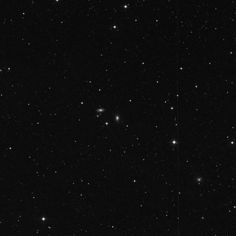 Image of IC 2566 - Lenticular Galaxy in Leo Minor star
