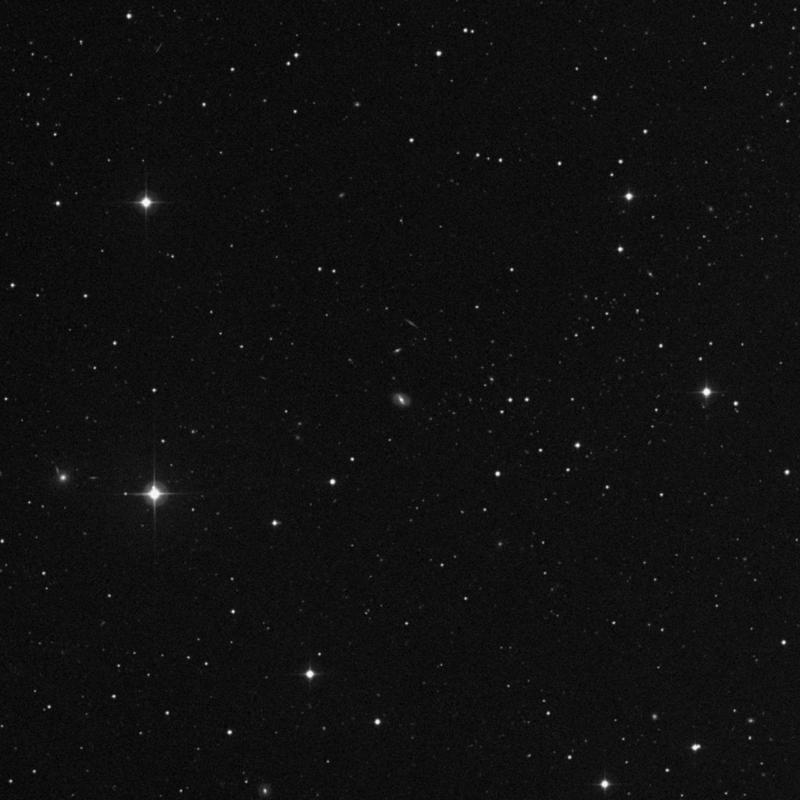 Image of IC 2567 - Lenticular Galaxy in Leo star