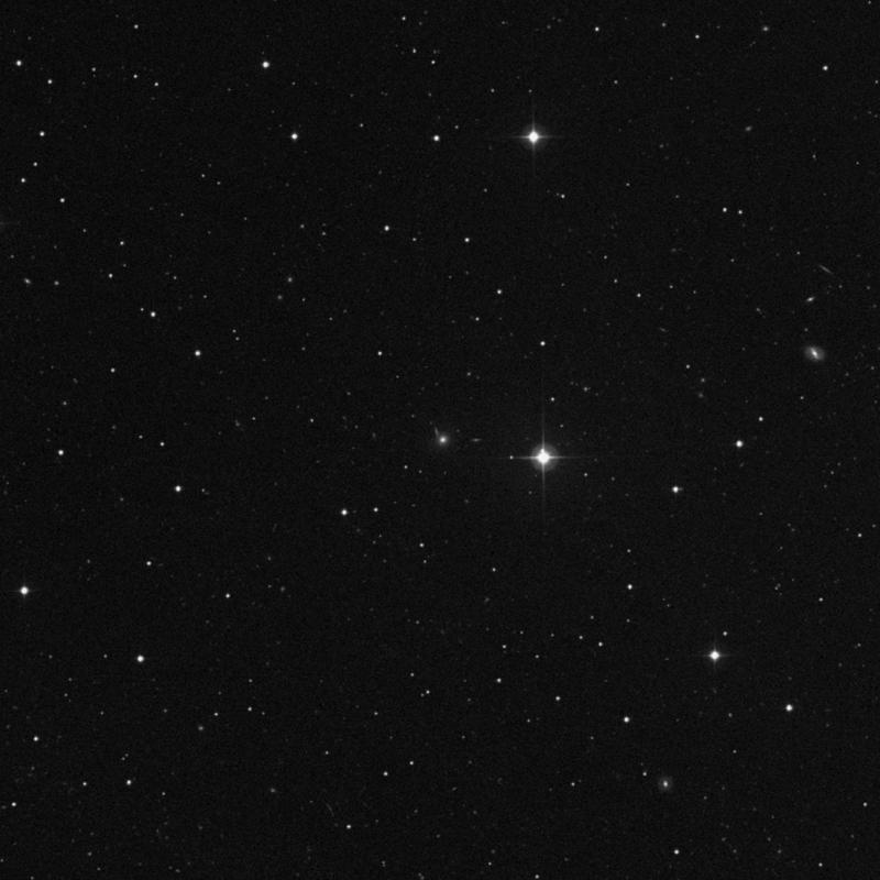 Image of IC 2569 - Elliptical Galaxy in Leo star