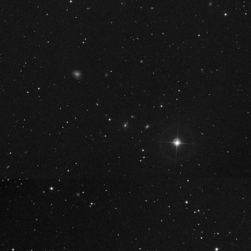 Image of IC 2601 - Elliptical Galaxy in Ursa Major star