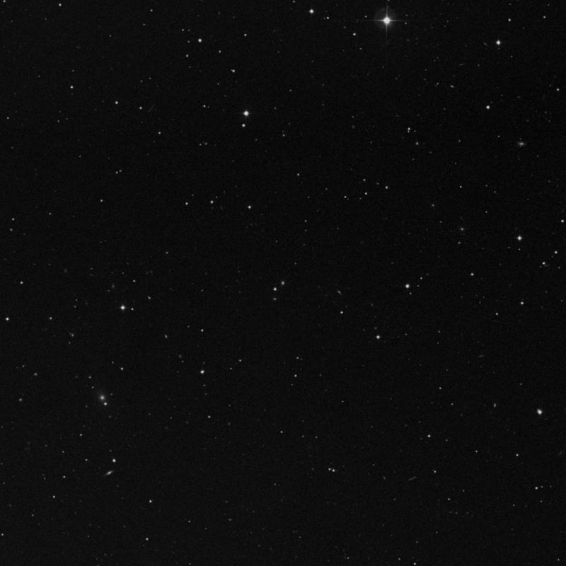 Image of IC 2667 - Elliptical Galaxy in Leo star