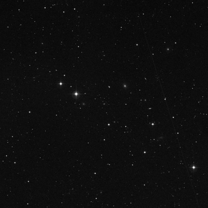Image of IC 2723 - Elliptical Galaxy in Leo star