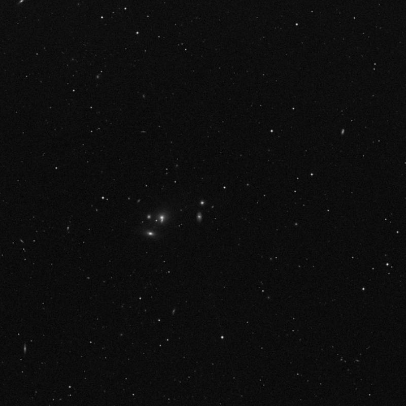 Image of IC 2759 - Elliptical Galaxy in Leo star