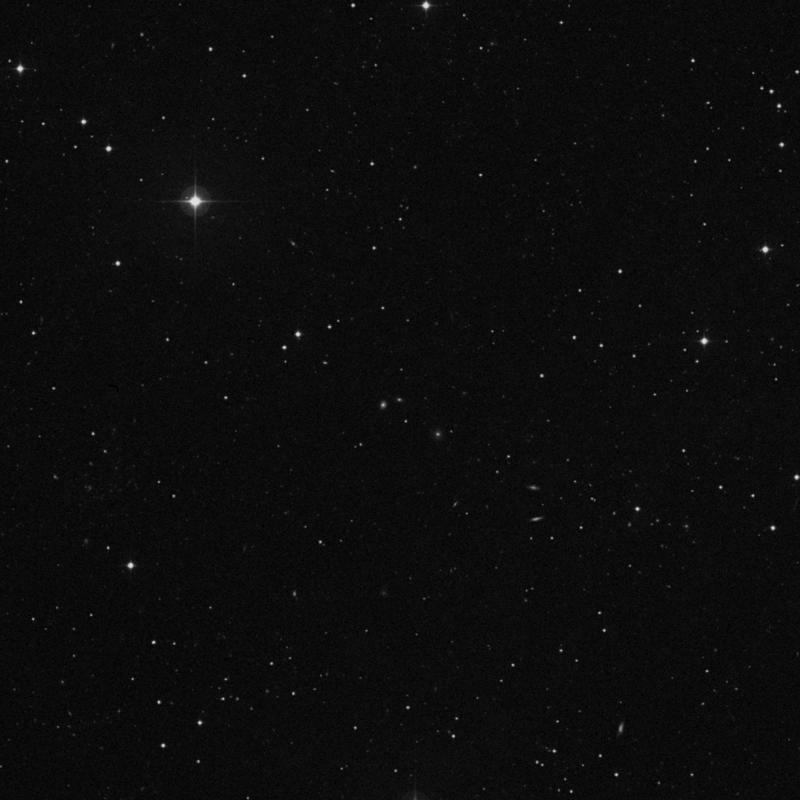 Image of IC 2765 - Elliptical Galaxy in Leo star