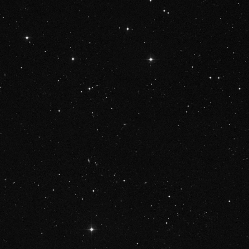 Image of IC 2818 - Elliptical Galaxy in Leo star