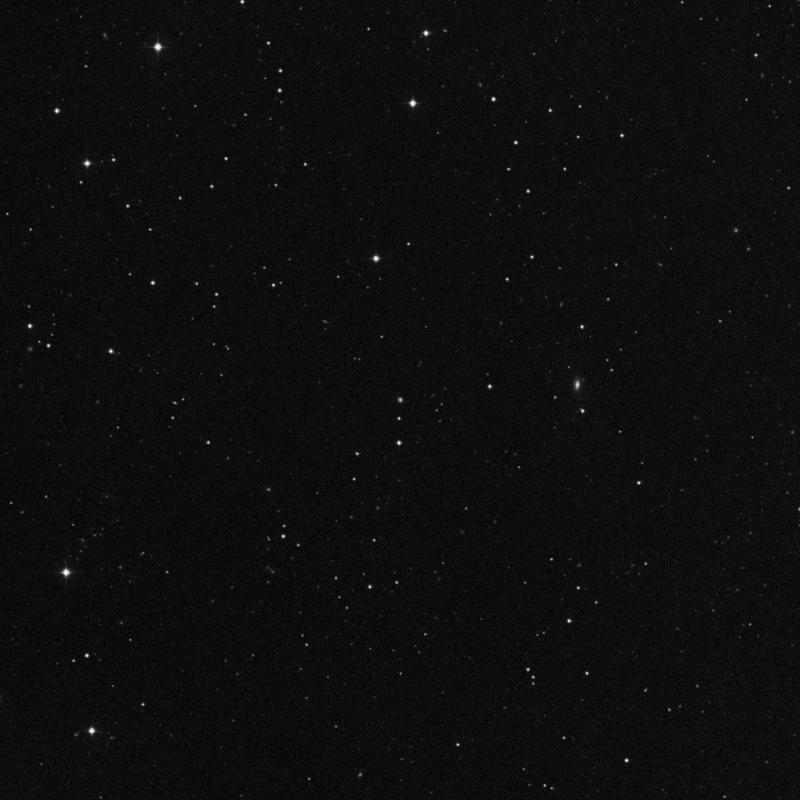 Image of IC 2837 - Elliptical Galaxy in Leo star