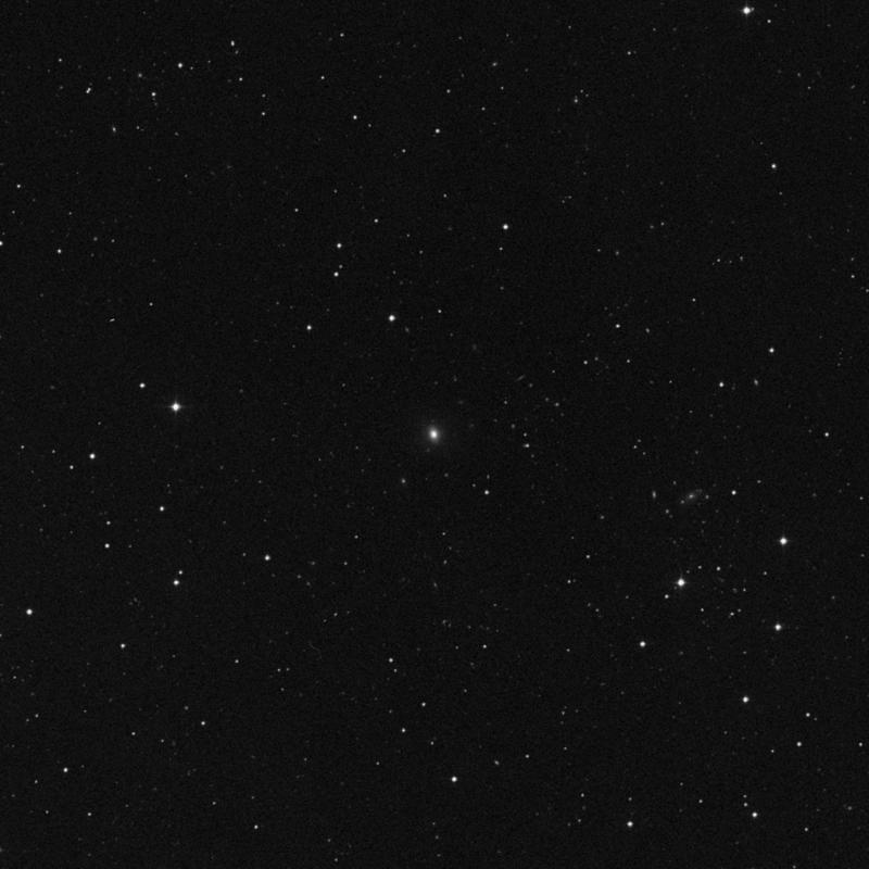 Image of IC 2967 - Elliptical Galaxy in Ursa Major star