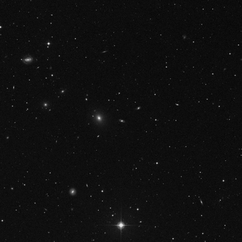Image of IC 2968 - Lenticular Galaxy in Leo star