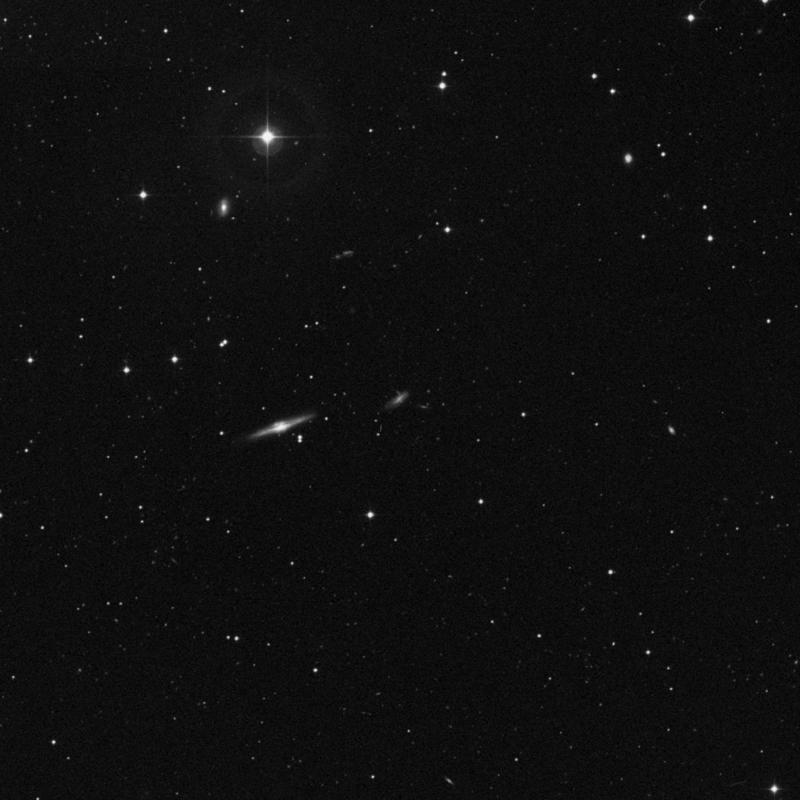Image of IC 2978 - Barred Spiral Galaxy in Ursa Major star