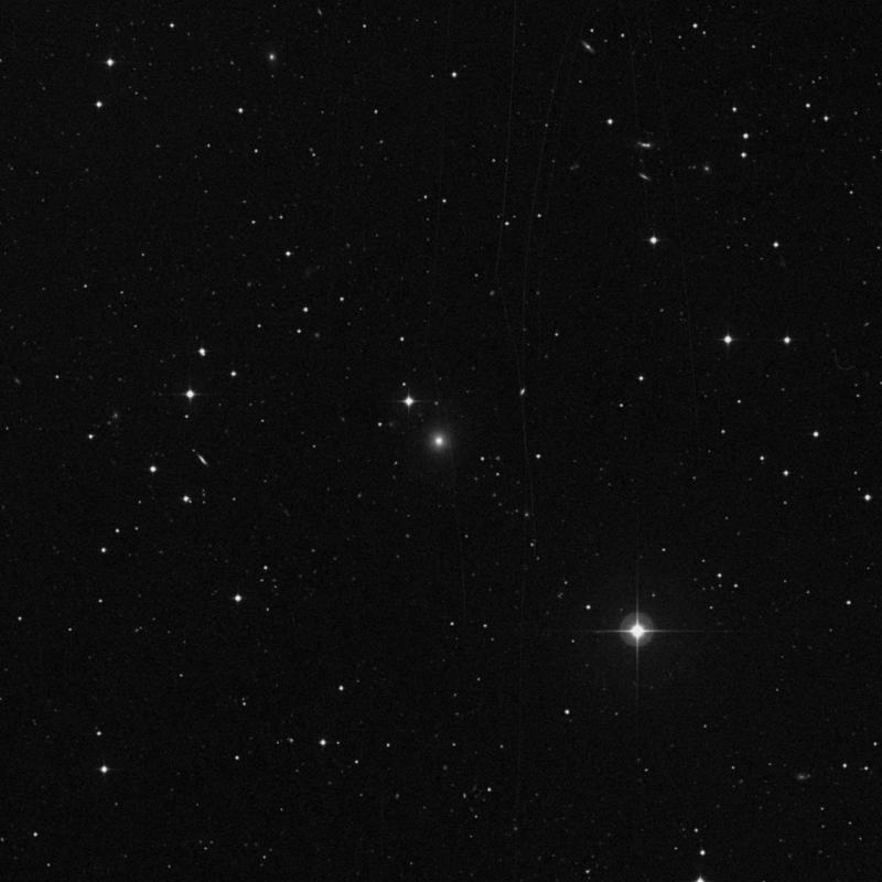 Image of IC 3022 - Elliptical Galaxy in Canes Venatici star