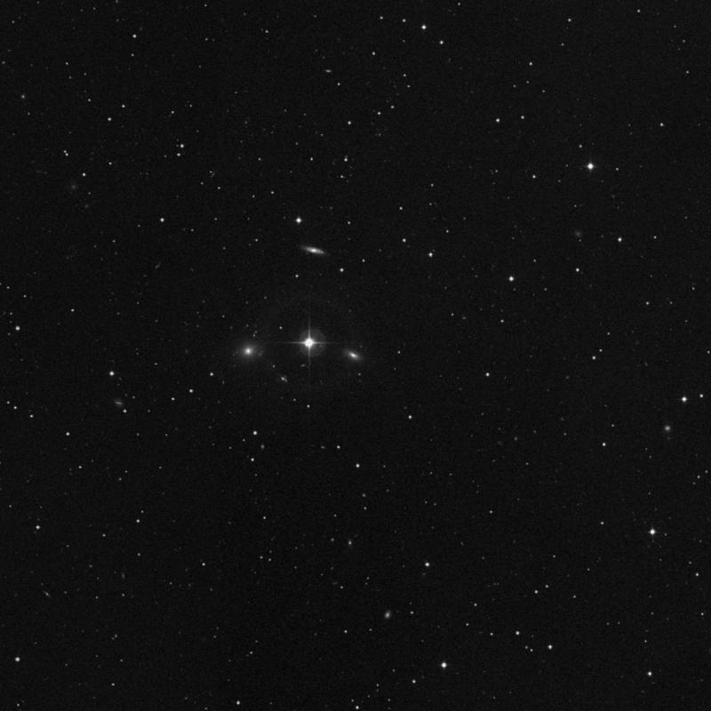 Image of IC 329 - Elliptical Galaxy in Taurus star
