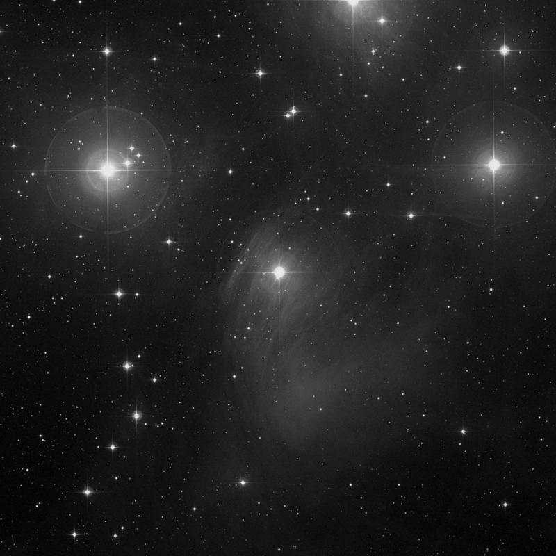 Image of IC 349 (Barnard's Merope Nebula) - Reflection Nebula in Taurus star