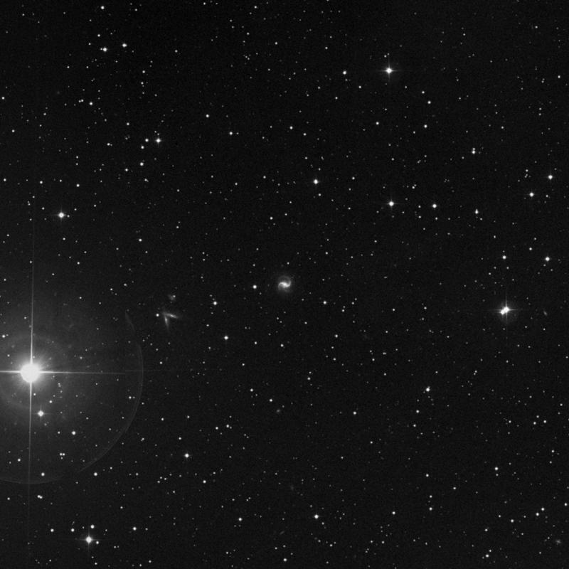 Image of IC 357 - Barred Spiral Galaxy in Taurus star