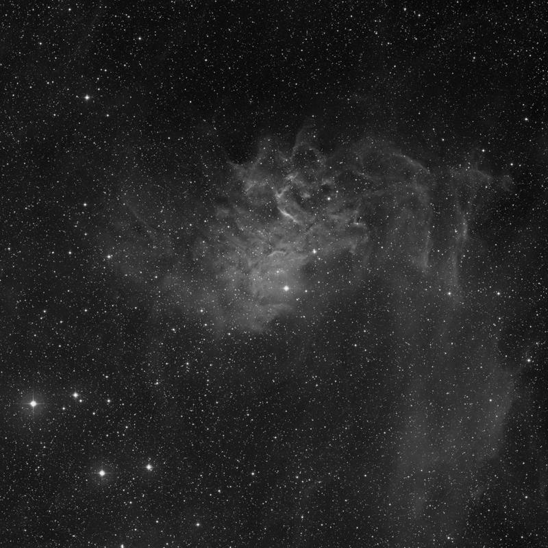 Image of IC 405 (Flaming Star Nebula) - Nebula star