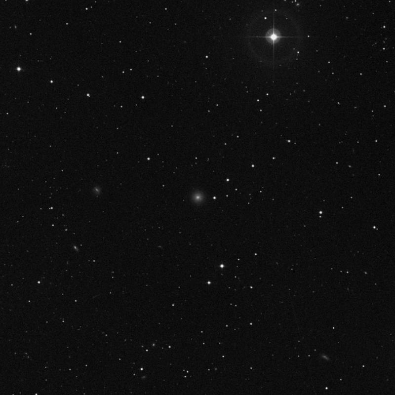 Image of IC 3131 - Elliptical/Spiral Galaxy in Virgo star