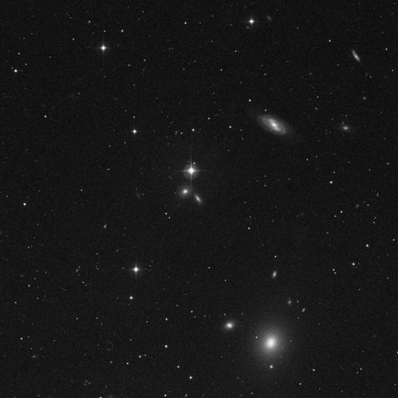 Image of IC 3155 - Lenticular Galaxy in Virgo star