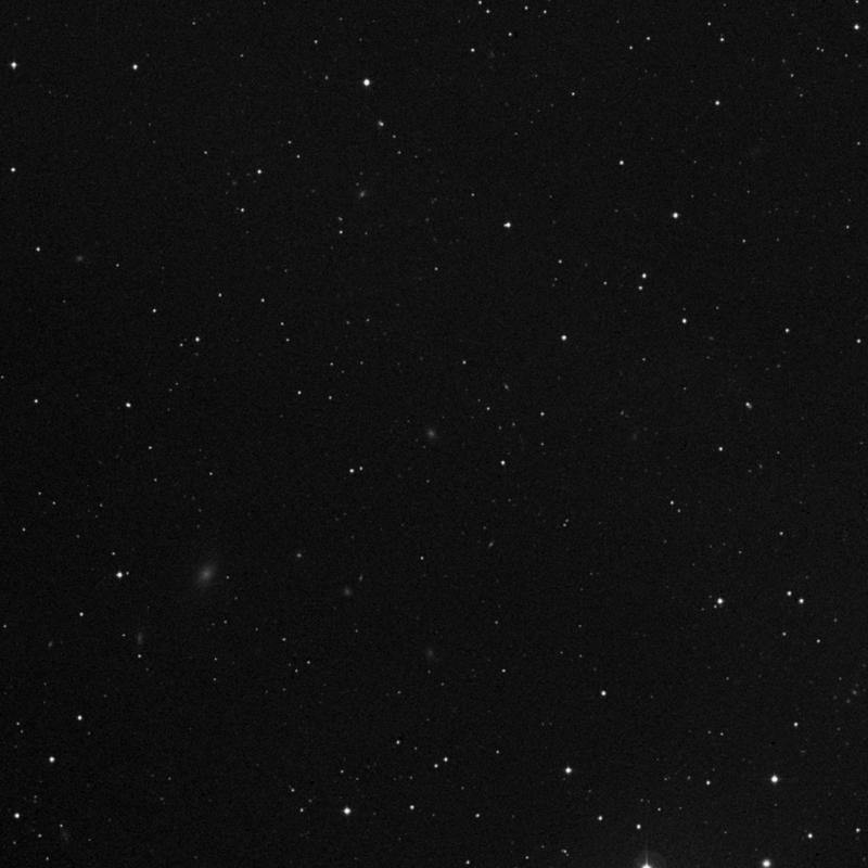 Image of IC 3445 - Elliptical Galaxy in Virgo star