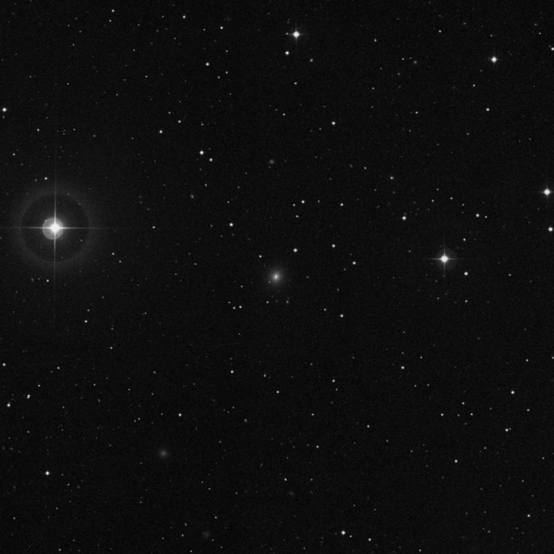 Image of IC 3468 - Elliptical Galaxy in Virgo star