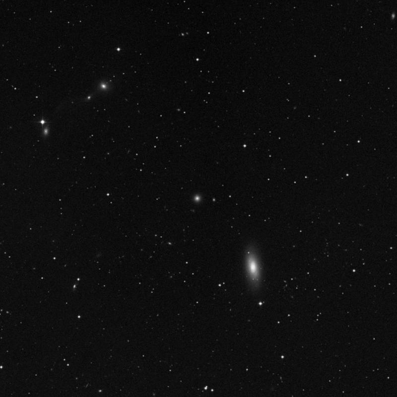Image of IC 3470 - Elliptical Galaxy in Virgo star