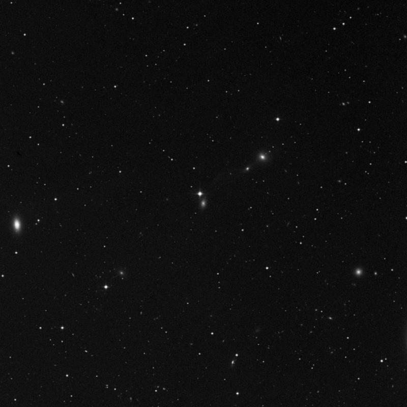 Image of IC 3483 - Intermediate Spiral Galaxy in Virgo star