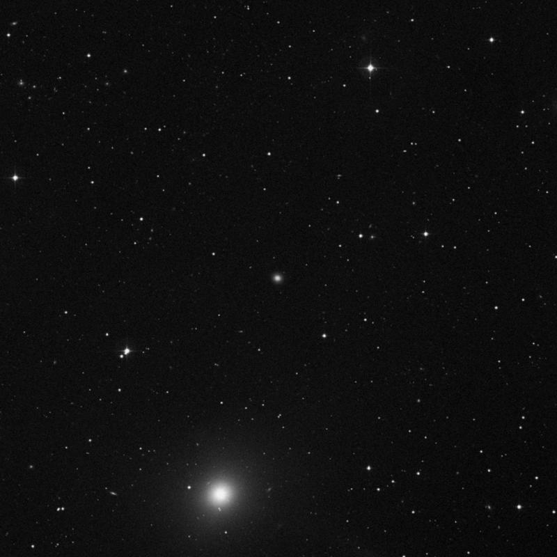 Image of IC 3540 - Lenticular Galaxy in Virgo star
