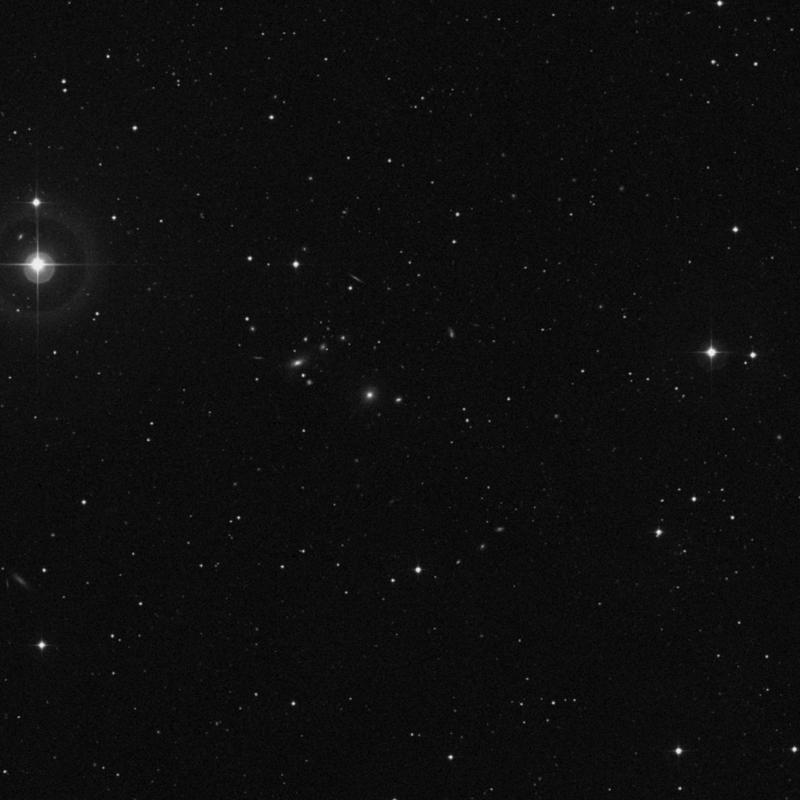 Image of IC 3760 - Elliptical Galaxy in Virgo star