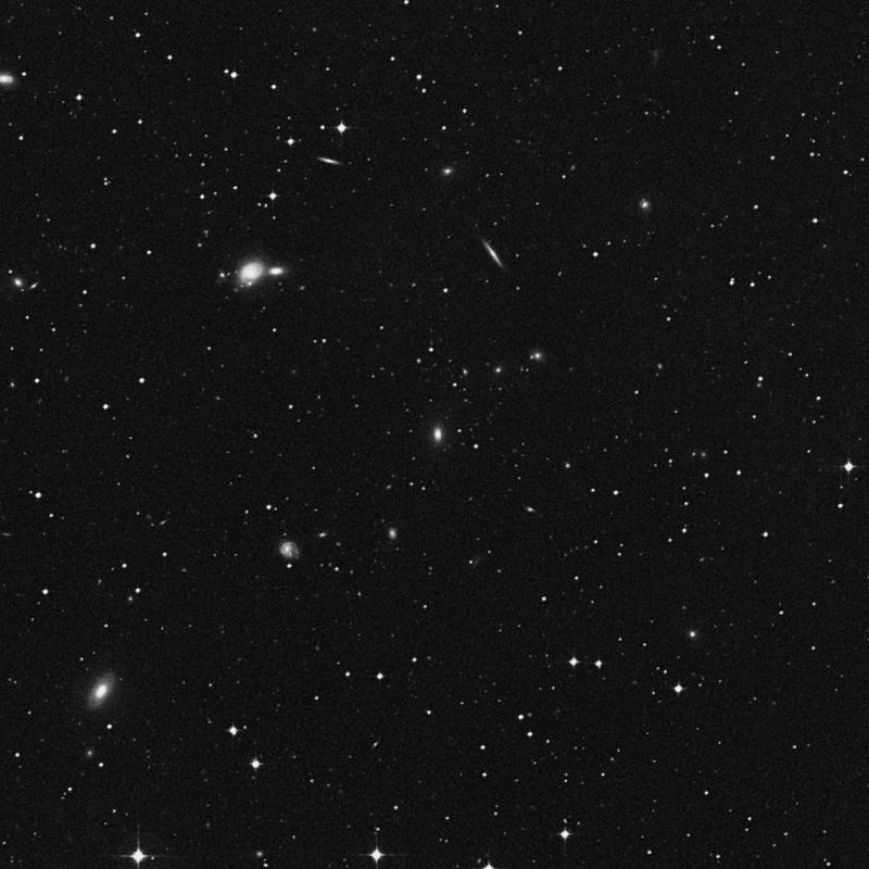 Image of IC 3824 - Lenticular Galaxy in Corvus star