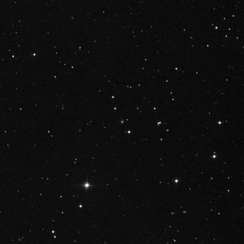 Image of IC 3842 - Elliptical Galaxy in Canes Venatici star