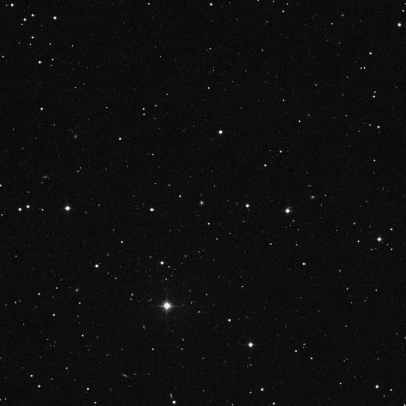 Image of IC 3993 - Elliptical Galaxy in Canes Venatici star