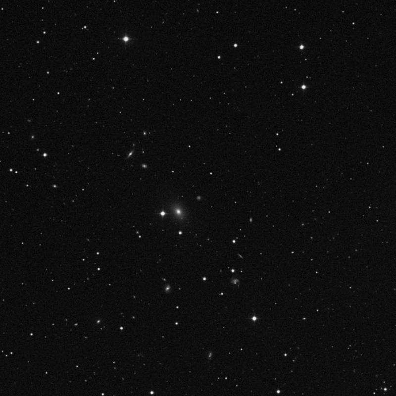 Image of IC 4062 - Intermediate Spiral Galaxy in Canes Venatici star