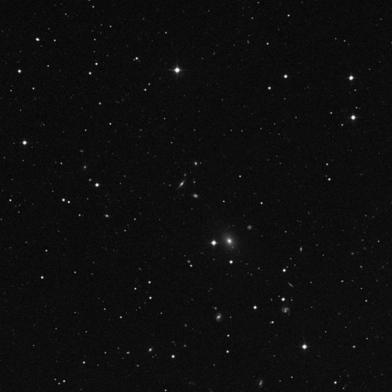 Image of IC 4068 - Elliptical (E?) Galaxy in Canes Venatici star