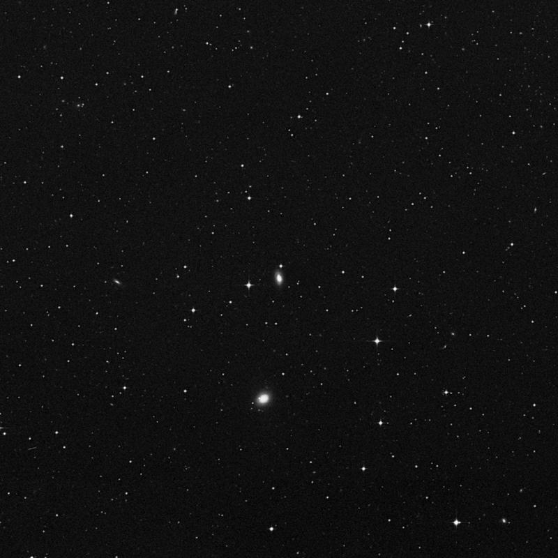 Image of IC 4071 - Lenticular Galaxy in Virgo star