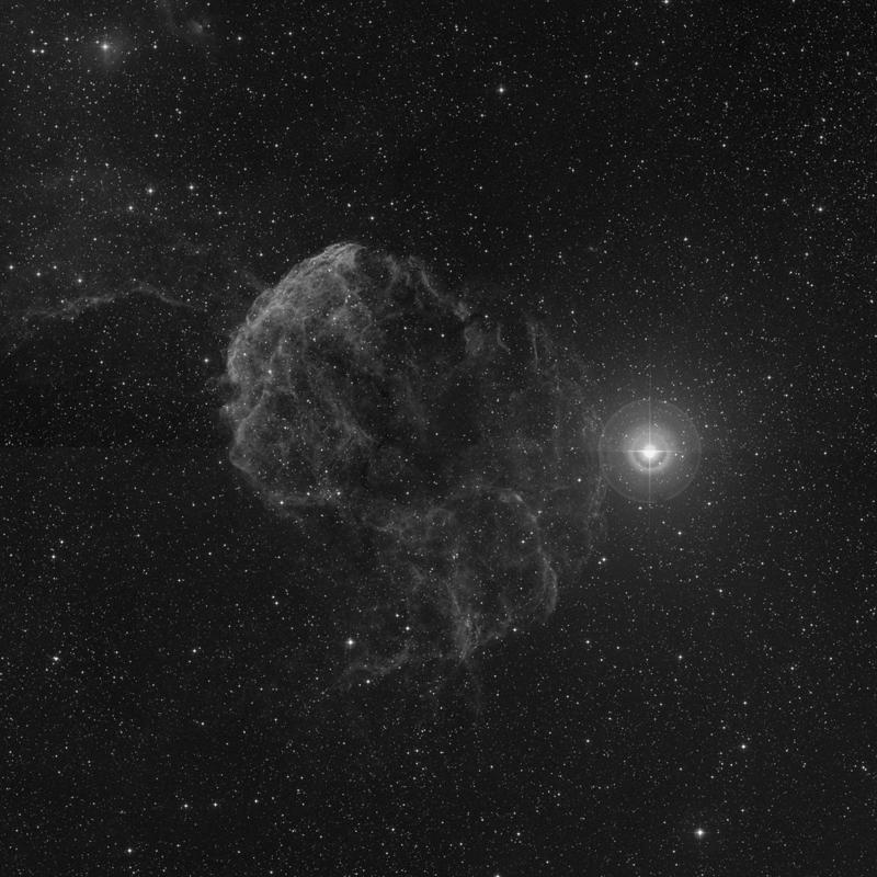 Image of IC 443 (Gem A) - Supernova Remnant in Gemini star