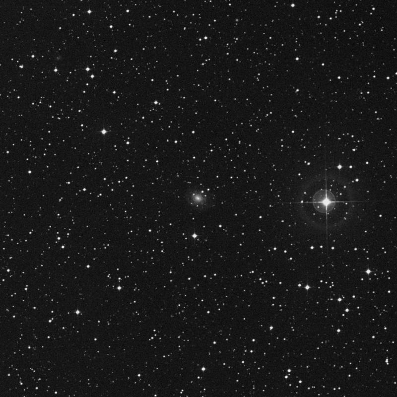 Image of IC 5005 -  Galaxy in Capricornus star