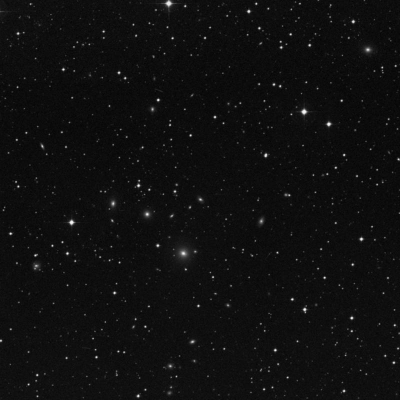 Image of IC 5122 - Lenticular Galaxy in Capricornus star