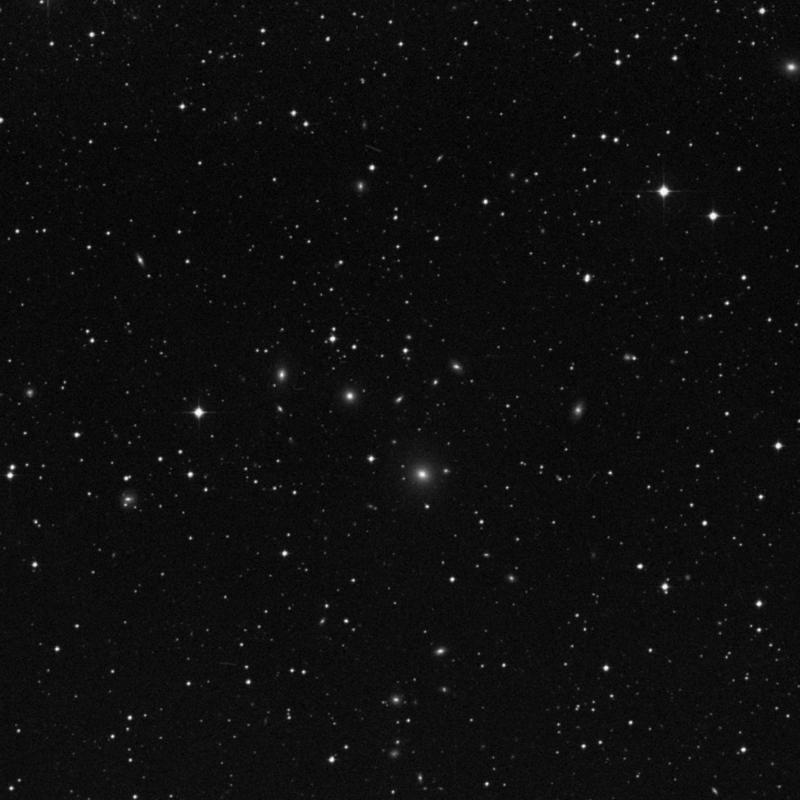 Image of IC 5124 - Lenticular Galaxy in Capricornus star