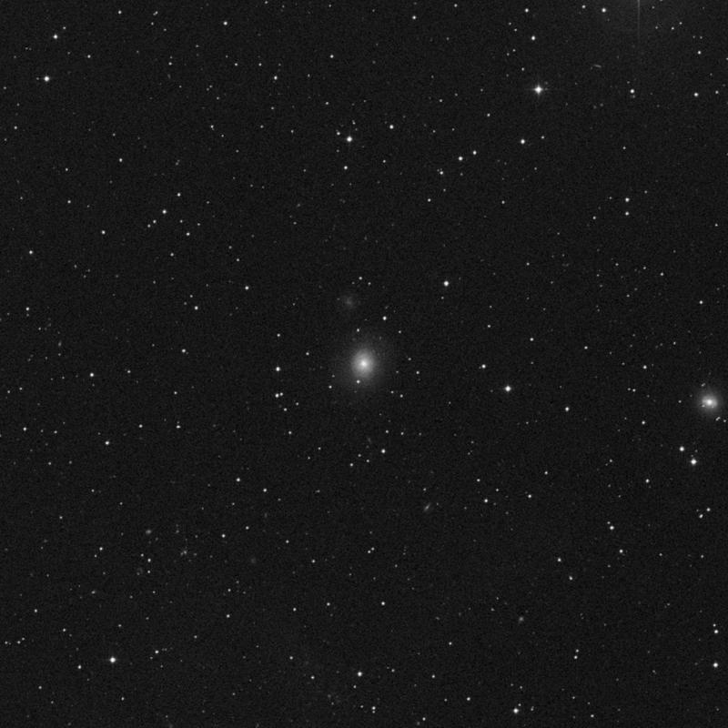 Image of IC 520 - Intermediate Spiral Galaxy star