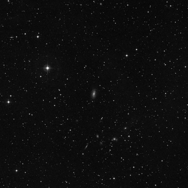Image of IC 5145 - Spiral Galaxy in Pegasus star