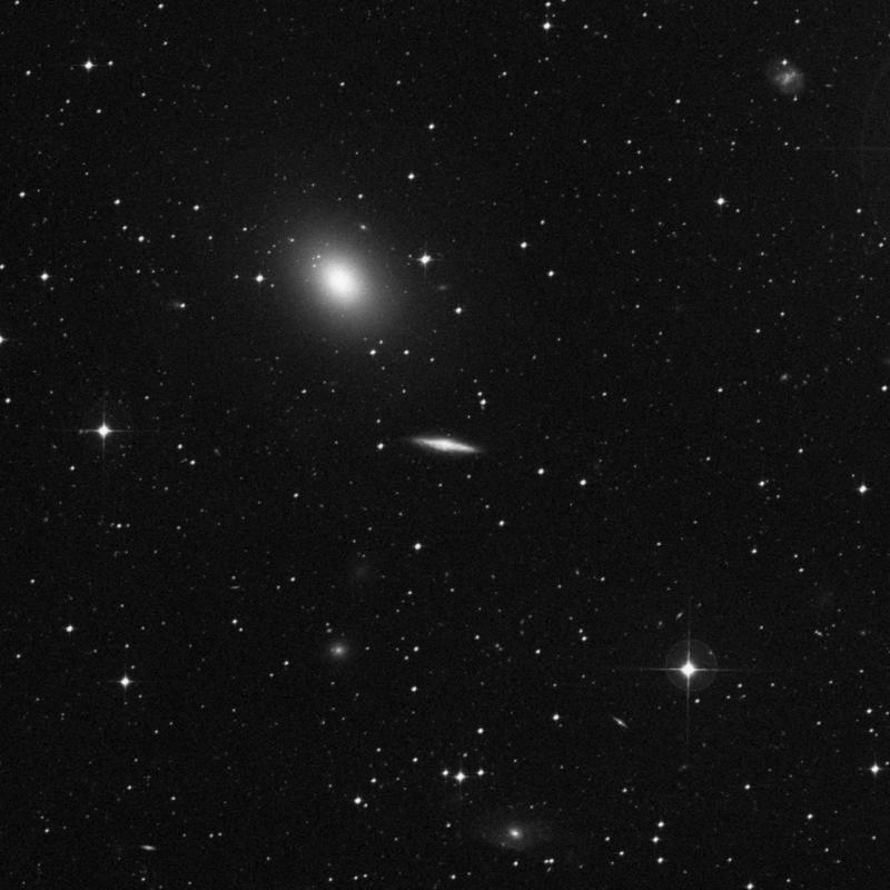 Image of IC 5264 - Spiral Galaxy in Grus star