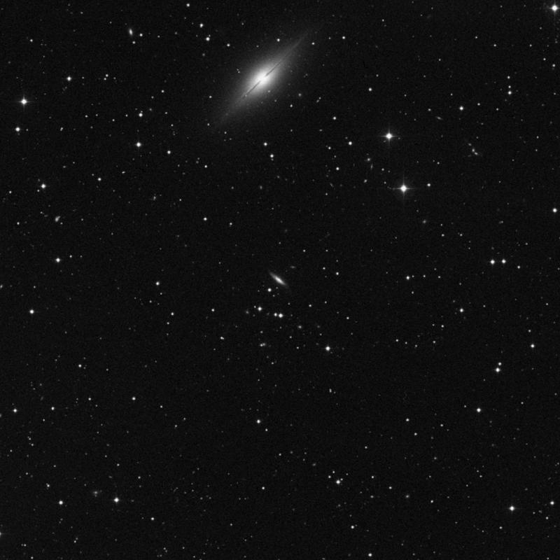 Image of IC 5381 - Intermediate Spiral Galaxy in Pegasus star