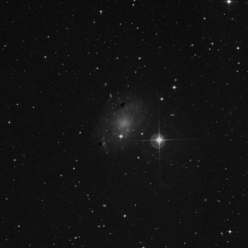 Image of NGC 45 - Intermediate Spiral Galaxy star